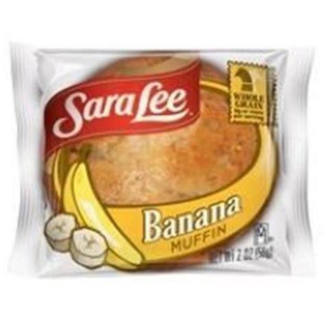 Sara Lee Individually Wrapped Whole Grain Banana Muffin, 2