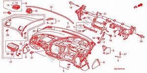 Instrument Panel Rh  For Honda Cars Civic Hybrid Mx 4