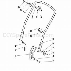Mountfield Sp555  Honda Gcv160   2014  Parts Diagram  Page 2