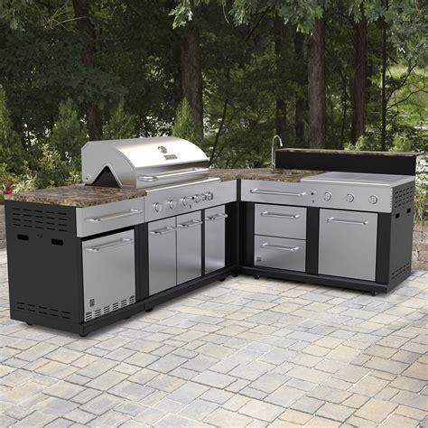 ideas  prefab outdoor kitchen kits theydesign