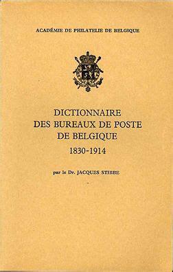 bureau de poste belgique klassische philatelie belgien literatur teil 1 i