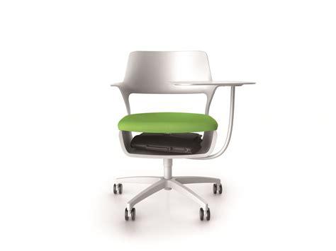 siege pour ordinateur fauteuil avec tablette écritoire pour réunions modulables