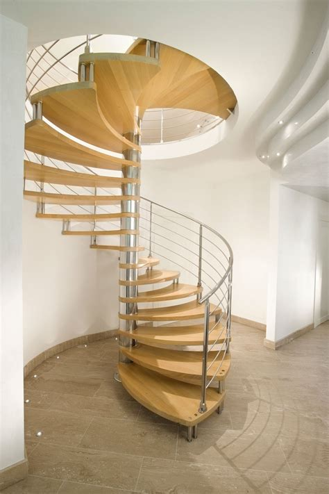 escalier en colimaon en bois 16