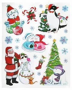 Stickers Pour Vitre : autocollant pour fenetre noel noel decoration ~ Melissatoandfro.com Idées de Décoration