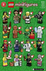 Lego Minifigures Series 11 Details and Images!