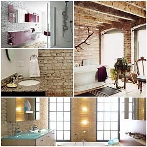 Badgestaltung Ideen Mit Ziegelwnden Fr Eine Traumhafte