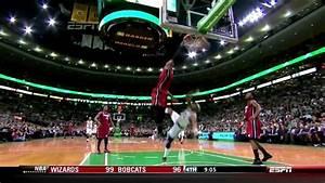 LeBron James NASTY Dunk On Jason Terry - Celtics vs Heat 3 ...