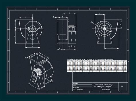 centrifugal fan fr dwg block  autocad designs cad
