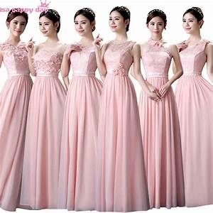 cad932c3f9c pastel rose demoiselle d 39 honneur modeste robe mari e robe demoiselles d  39 honneur soeur de la