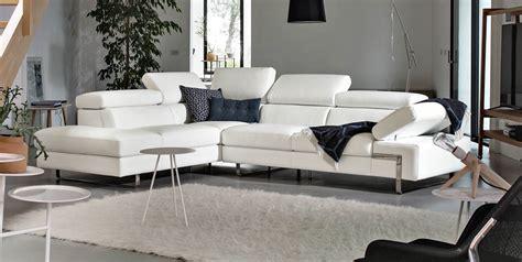 canape cuir blanc convertible poltronesofà divani