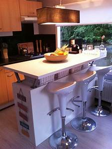 Expedit Kitchen Bar Ikea Hacker Ikea Kitchen Island With Breakfast Bar