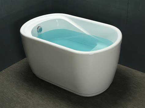 vasca bagno piccola vasca da bagno a zoccolo piccola 1 posto 120 75 h65 cm