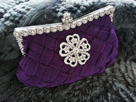 Purple Evening Party Clutch