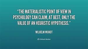 Wilhelm Wundt Quotes. QuotesGram