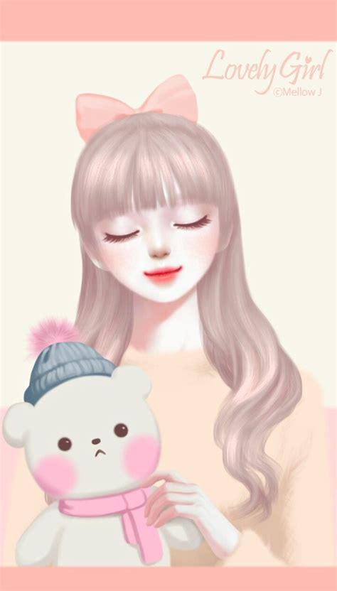 menakjubkan  wallpaper animasi  korea richa