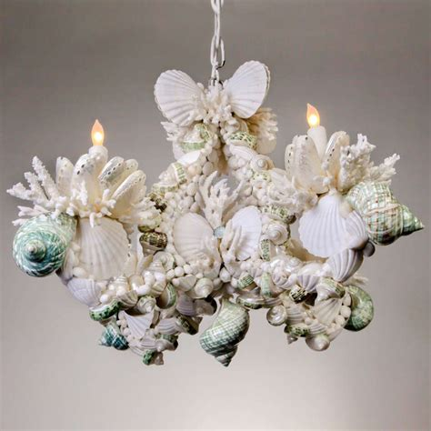 shell chandelier for sale at 1stdibs