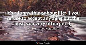 It's a funn... Somerset Maugham Poverty Quotes