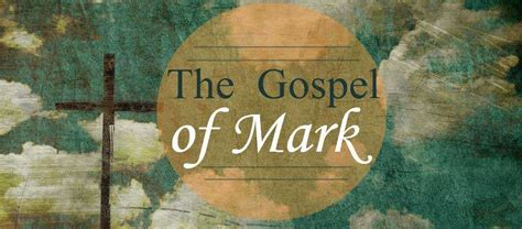gospel  mark  week bible study lutheran church