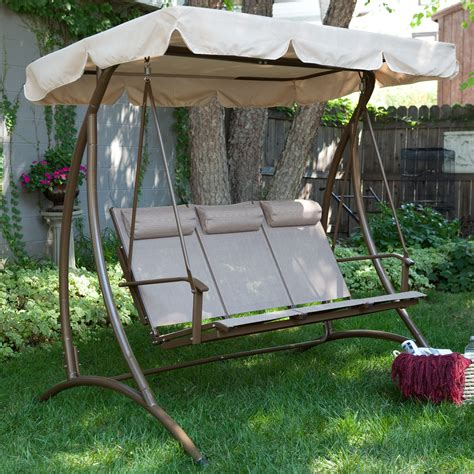 canapé swing porch swings for sale shop at hayneedle com