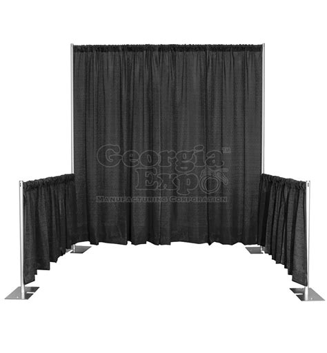 Expo Pipe And Drape - single booth kits trade show booths trade show equipment