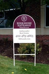 Berkshire Hathaway Real Estate Signs