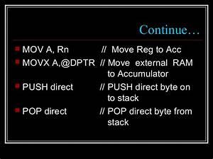 Xrl Instruction In 8051