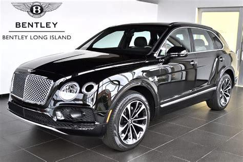 2018 Bentley Bentayga Onyx  Bentley Long Island Vehicle