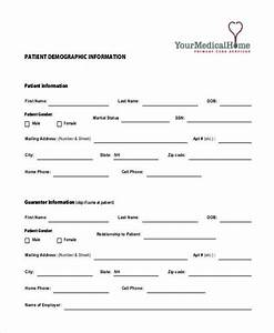 Free 10  Sample Patient Information Forms In Pdf