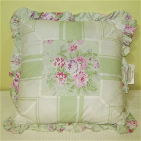 simply shabby chic green blanket simply shabby chic bramble rose decorative throw pillows green 16 x 16