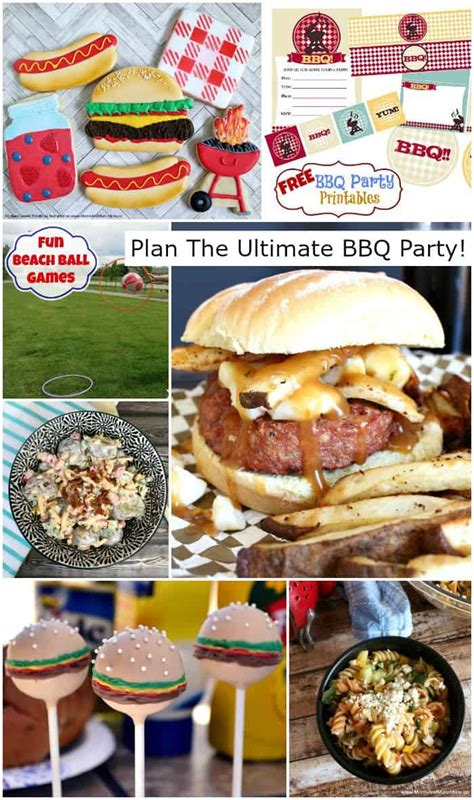 ultimate bbq party recipes planning tips