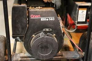 Onan Pro 5000e Gas Powered Generator