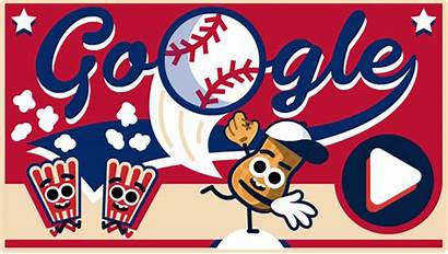 Doodle July Google Fourth Baseball Play Independence