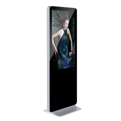 iphone kiosk 46 inch iphone shape standing lcd advertising display