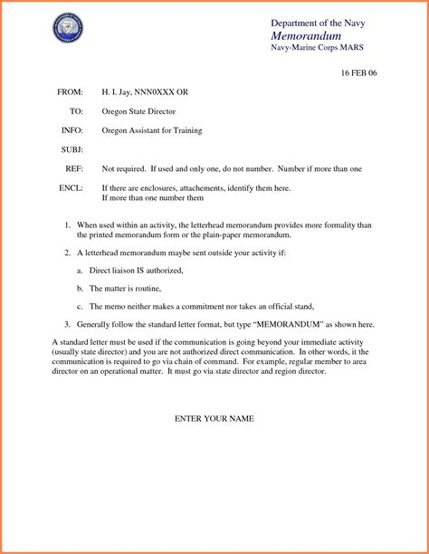 valid memorandum  understanding template navy psybeecom