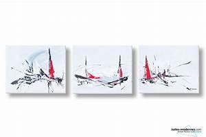 Tableau Triptyque Moderne : comment gagner un tableau moderne contemporain ou desgn avec le jeu concours toiles ~ Teatrodelosmanantiales.com Idées de Décoration