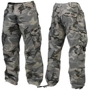 Grey Army Camo Pants