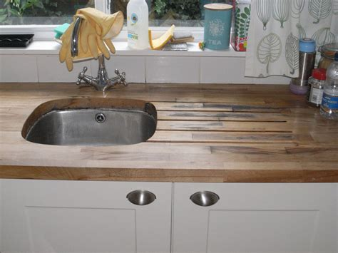 Kitchen Fitter Description by Wood Kitchen Floor Wooden Work Surface Kitchen Fitting