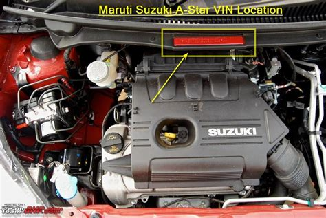 how does a cars engine work 2011 suzuki sx4 free book repair manuals finding the vin manufacturing date year on indian cars page 63 team bhp