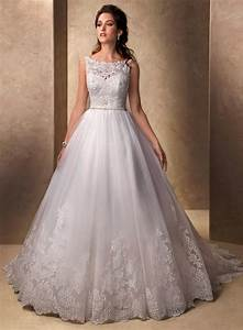 aliexpresscom buy royal sleeveless ball gown tulle and With lace and tulle wedding dress