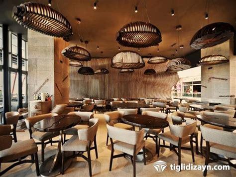 cafe dizayn için en güzel ahşap dekorasyonları sizlere