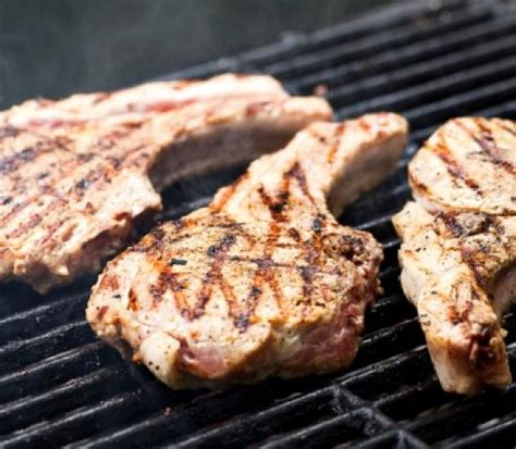 how to grill pork chops how to grill thick cut pork chops