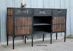Made Com Sideboard : buy a hand crafted urban buffet hutch vintage industrial ~ Michelbontemps.com Haus und Dekorationen