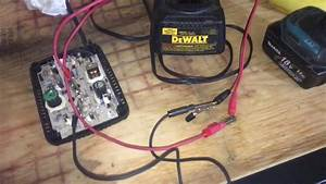 Charge Your Bad 18 Volt Makita Lithium Ion Battery With Dewalt Nicad Charger