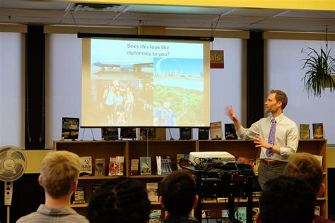 canadian speakers bureau consulate toronto speaker bureau visits area schools u s