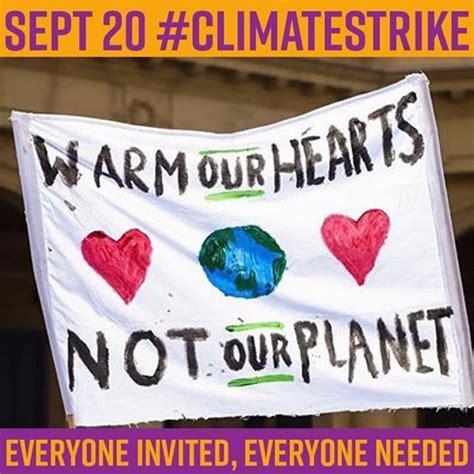 banner sign making workshops  global climate strike