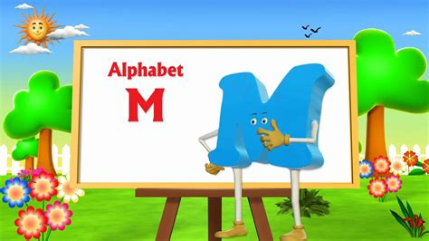 letter m song letter m song 3d animation learning alphabet abc 31469