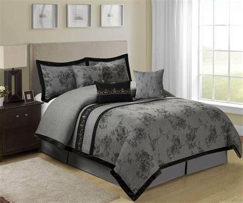 piece shasta jacquard floral bed   bag comforter sets