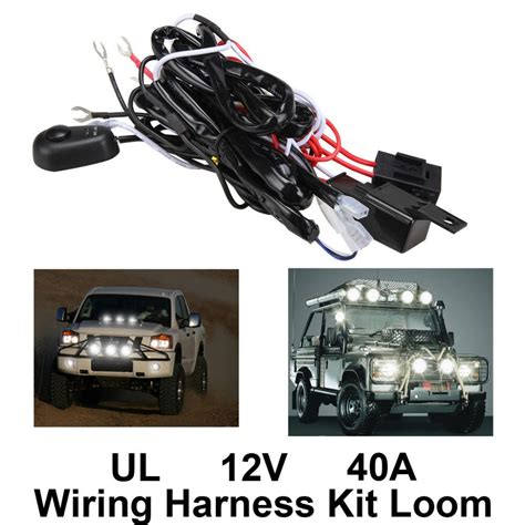 New High Quality Universalva Car Fog Light Wiring