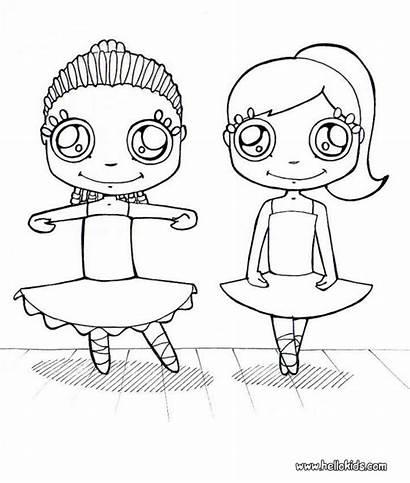 Coloring Pages Dance Ballet Siwa Jojo Dancer