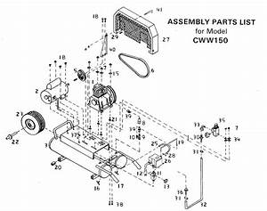 Bostitch Cww150 Air Compressor Parts